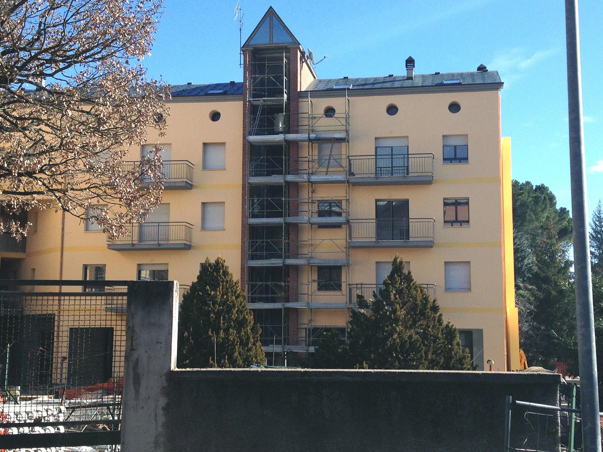 """Consolidamento terreno di fondazione - Condominio residenziale """"Il Bosco"""" - L'Aquila"""